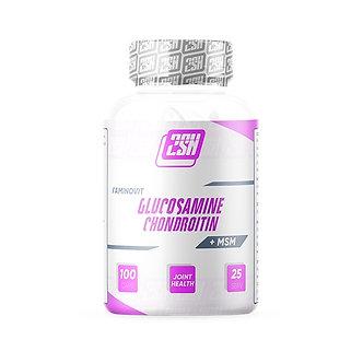 2SN Glucosamine + Chondroitin + MSM 600 мг (100капс)