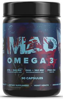 MAD Omega-3 1000мг (90капс)