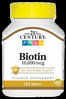 21 CENTURY Biotin 10000mcg (120таб)