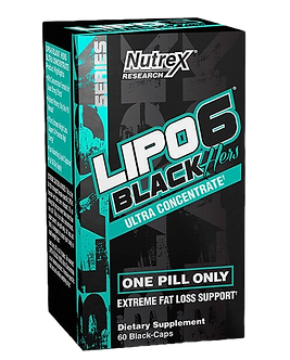 Nutrex Lipo 6 Black Hers Ultra Concentrate (60капс)