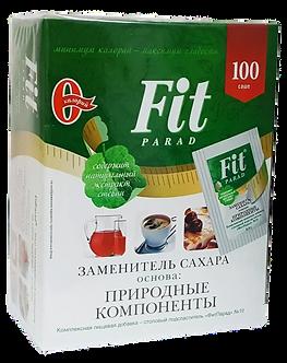 Fit Parad Смесь подсластителей № 10 на основе эритритола и стевии (100шт)