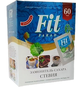Fit Parad Смесь подсластителей № 8 на основе эритритола и стевии (60шт)