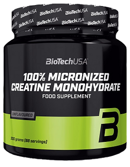 BioTechUSA 100% Creatine Monohydrate (300г)