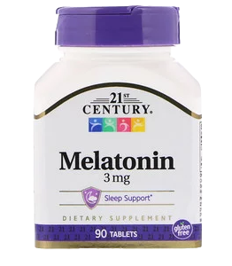 21 CENTURY Melatonin 3mg (90таб)