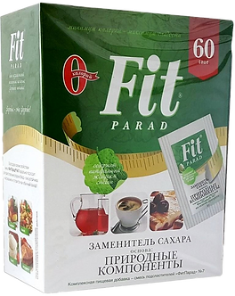 Fit Parad Смесь подсластителей № 7 на основе эритритола и стевии (60шт)