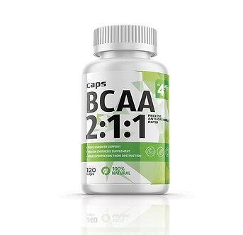 4ME Nutrition BCAA 500 мг (120 капс)