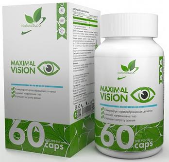 NaturalSupp Maximal vision (60капс)