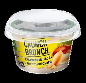 Crunch Brunch Арахисовая паста Классическая (200г)