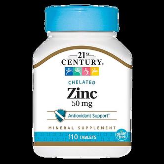 21 CENTURY Zinc 50 mg (110таб)