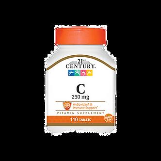 21 CENTURY Vitamin C 250 mg (110таб)