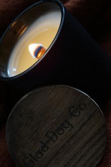 coconut wax candle