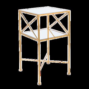 'Henri' Gold Side Table