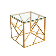 'Carole' Gold End Table