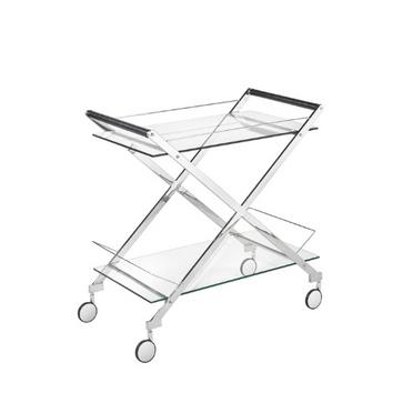'Bermuda' Silver Bar Cart