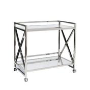 'Gerard' Silver Bar Cart