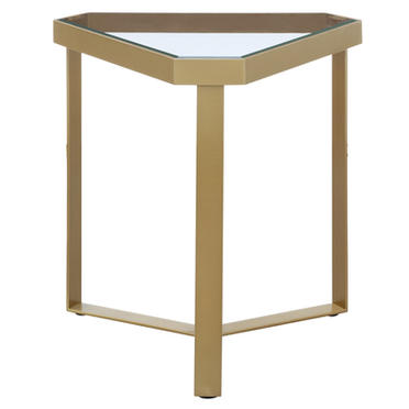 'Melrose' Gold Accent Table