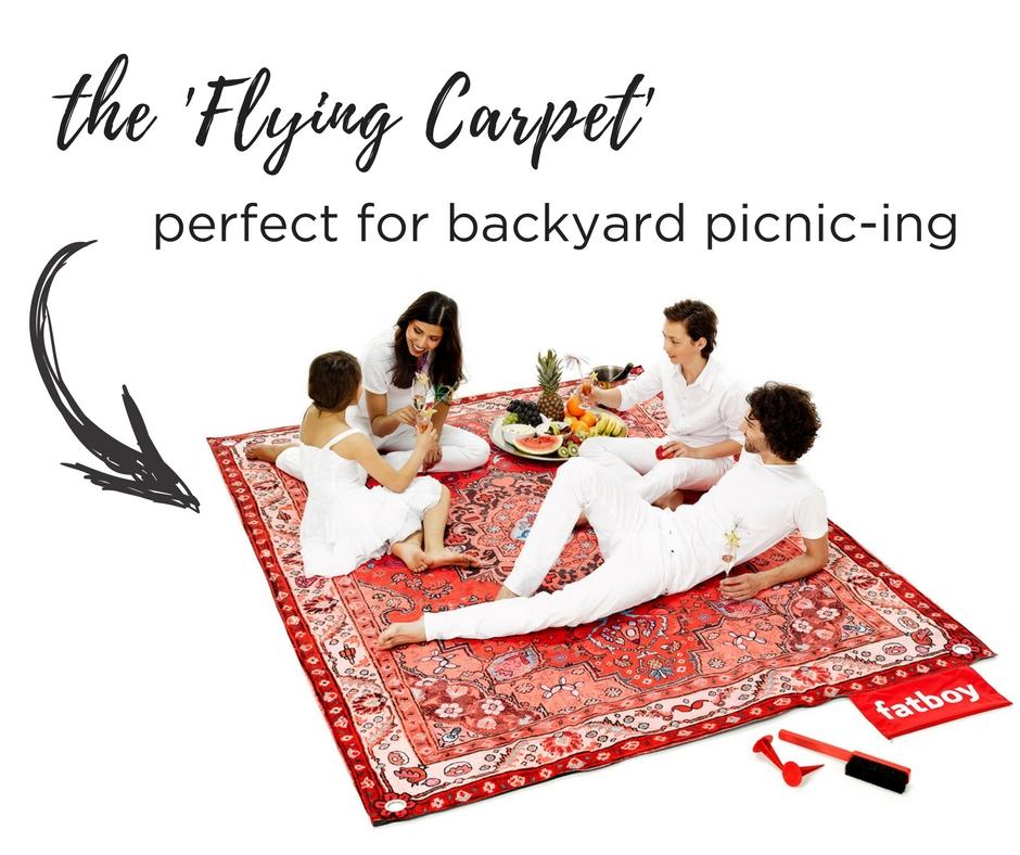 the 'Flying Carpet'