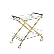 'Bermuda' Gold Bar Cart