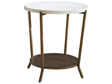 'Playlist' Round End Table