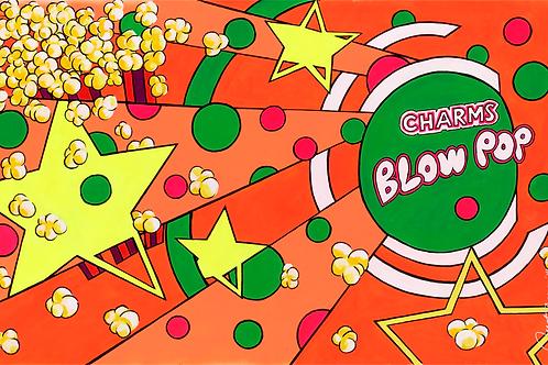 Blow Pop Orange