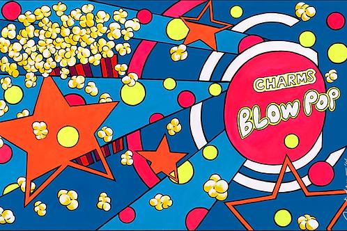 Blow Pop Blue