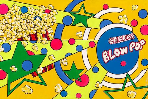 Blow Pop Yellow