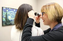 Dr Rohrberg Examines Patient