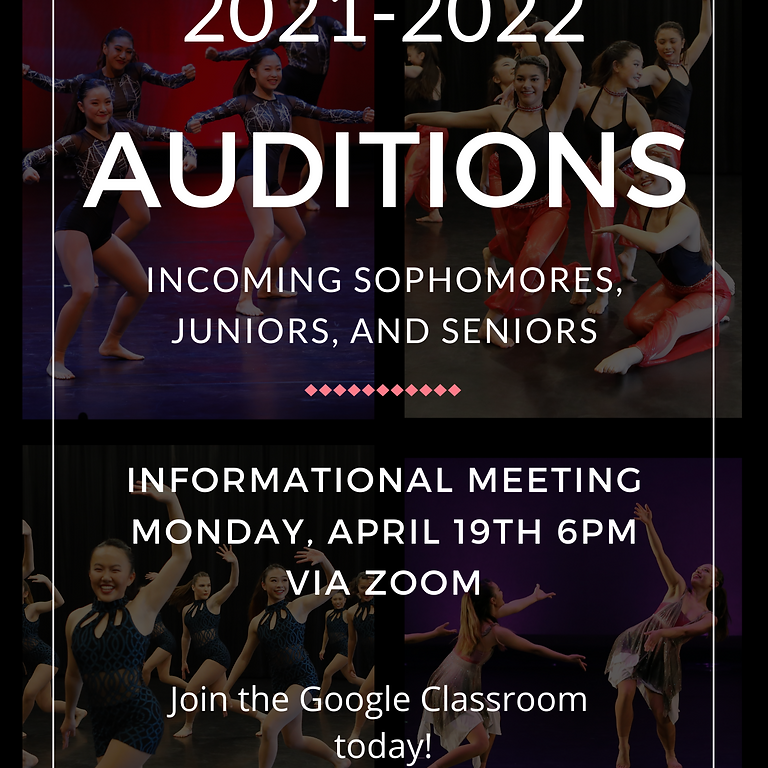 Orchesis Dance Company 2021-2022 Auditions