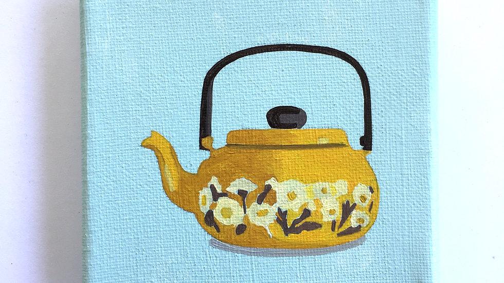 Mustard Teapot