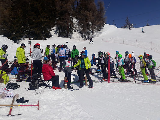 Team ski-club de Miège