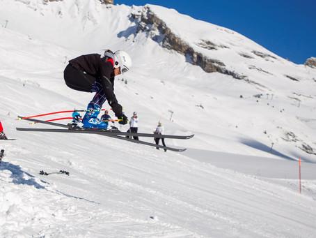 Lisa Clavien - Compétitrice à Ski Valais