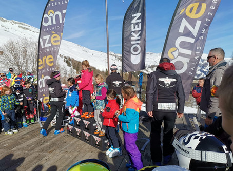 3 podiums - Interrégions Anzère