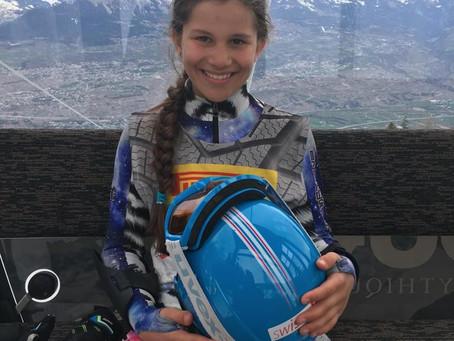 Marie Albrecht - Compétitrice à Ski Valais