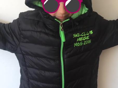 Offre sur veste noire du Ski-Club