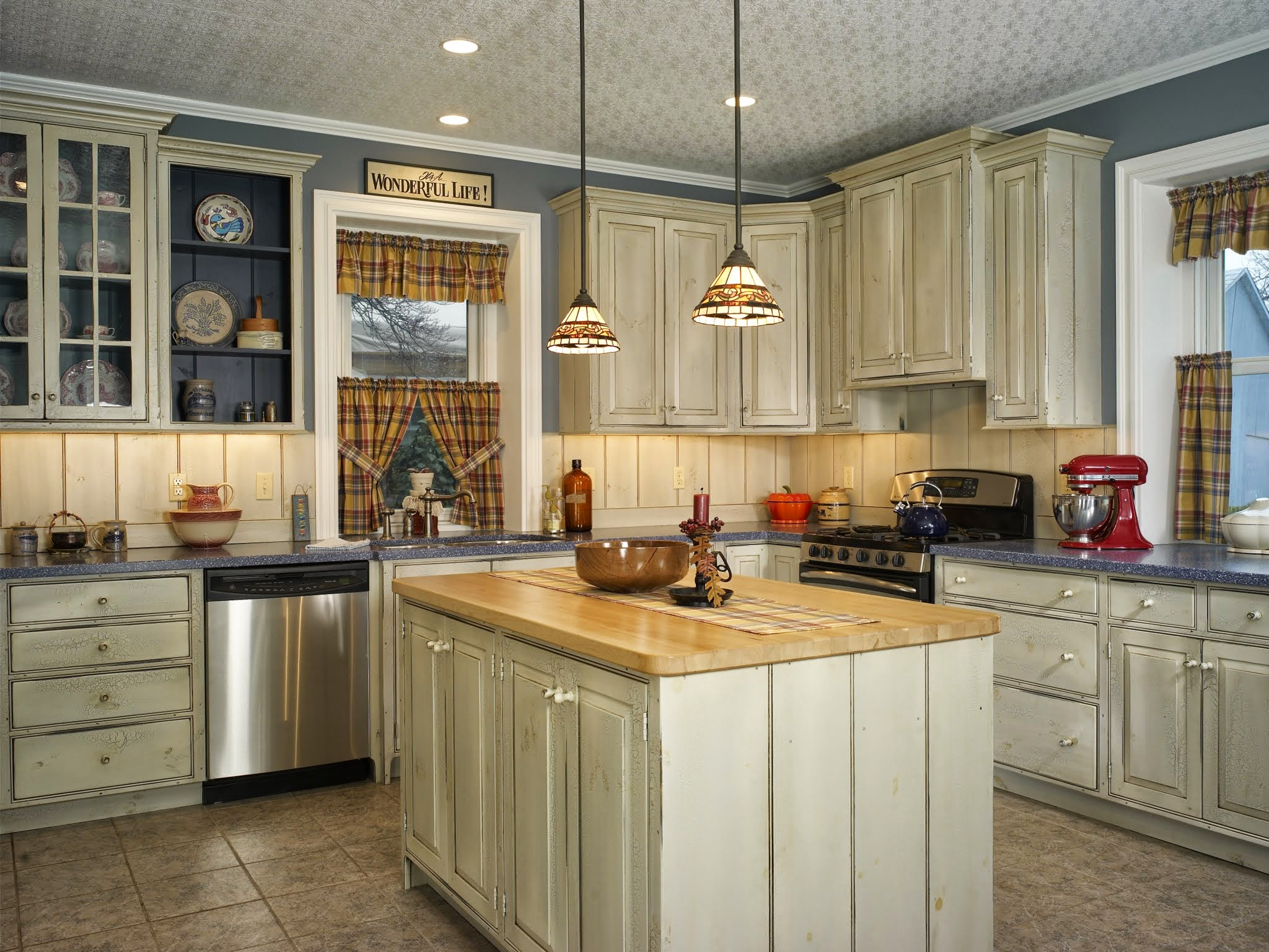 Picasa - Kitchen Renovation using Roger Wright Furniture cabinets, Corian and wo