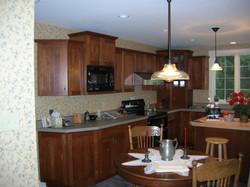 Picasa - Kitchen renovation and enlargement using Decora cabinets and laminate c