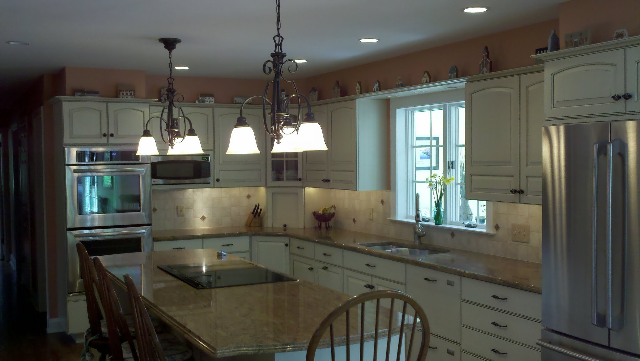 Picasa - Refinish existing kitchen cabinets, new appliaces, granite counters and