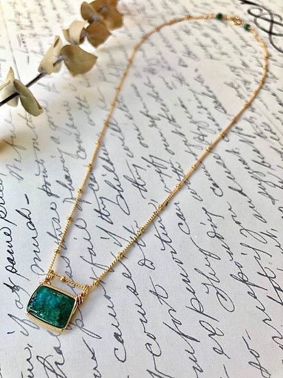 Green Beauty Necklace