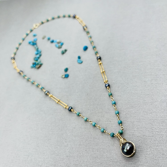 Ocean And Land Necklace