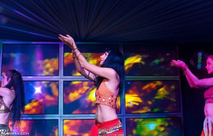 Bollywood show at Maxim bar Prague ajna