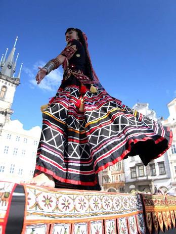 Traditional India dances Sapera Kalbeliya