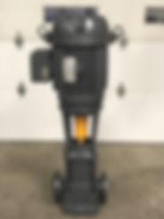 Repaired Baldor motor and pump