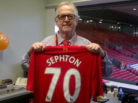"""Entrevista com George Sephton, """"A Voz de Anfield"""""""