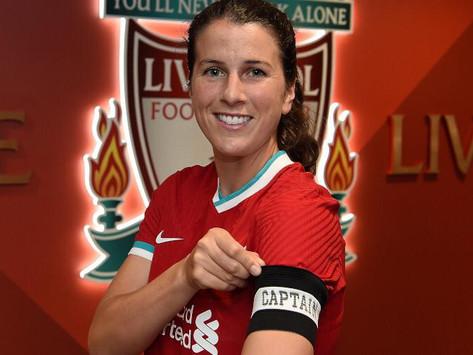 Niamh Fahey é a nova capitã das Liverpool Women