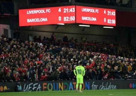Um ano de Liverpool x Barcelona por torcedores brasileiros