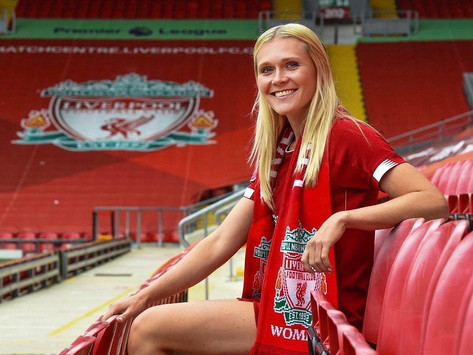 Especialista comenta sobre a nova atacante das Liverpool Women