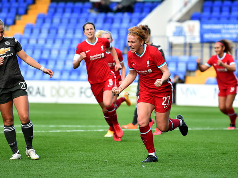 Liverpool Women vence clássico contra as Manchester United