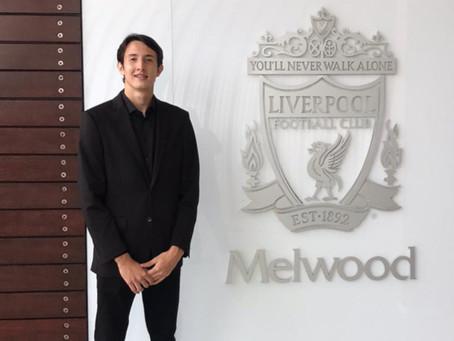 Marcelo Pitaluga é anunciado pelo Liverpool e já treina em Melwood