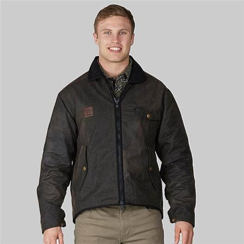 Swanndri Men's Waimak Oilskin Jacket with Wool Lining