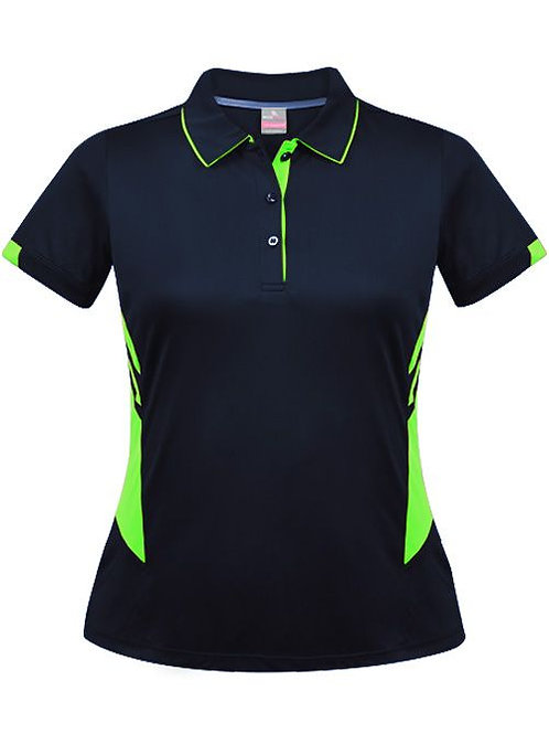 Aussie Pacific - Ladies Tasman Polo (Neon)